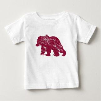 Aurora boreal resistida Kenai del oso de Brother Camiseta