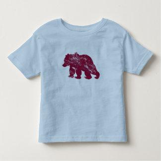 Aurora boreal resistida Kenai del oso de Brother T Shirts