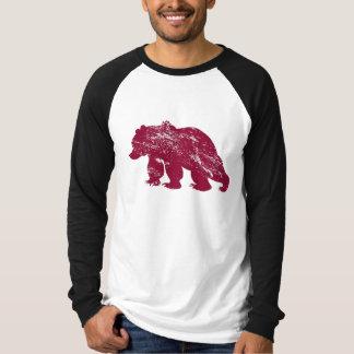 Aurora boreal resistida Kenai del oso de Brother Polera