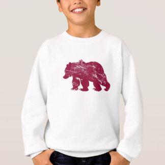 Aurora boreal resistida Kenai del oso de Brother Poleras