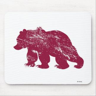 Aurora boreal resistida Kenai del oso de Brother Tapetes De Ratones