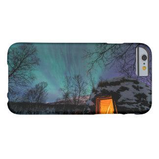 Aurora boreal sobre el caso del iPhone 6 de Sami Funda De iPhone 6 Barely There