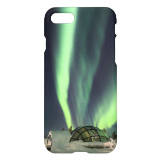 Aurora boreal sobre Finlandia Funda Para iPhone 7