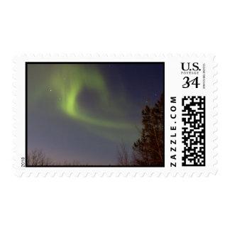 Aurora boreal suave sello