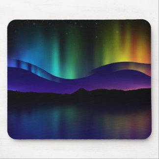 Aurora boreal tapete de ratones
