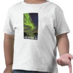 Aurora boreal y orcas - parque nacional de Denali, Camiseta