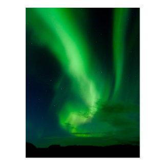 Aurora Borealis - Þingvellir #7 Postcards