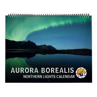 Aurora Borealis 2022 Calendar