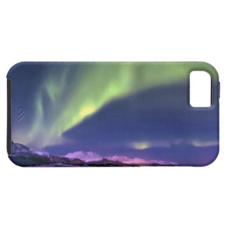 Aurora Borealis above Lyngenfjorden Norway iPhone SE/5/5s Case
