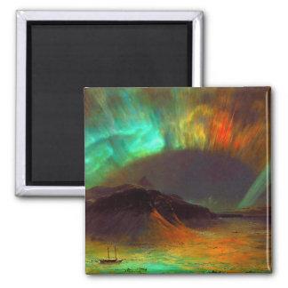 Aurora Borealis, aurora boreal Iman De Nevera