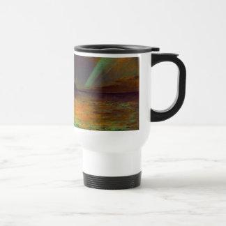 Aurora Borealis - aurora boreal Tazas