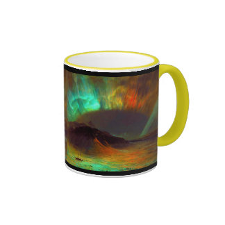 Aurora Borealis, aurora boreal Taza De Café
