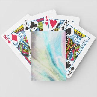 Aurora Borealis Bicycle Playing Cards