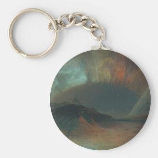 Aurora Borealis by Frederic Edwin Church 1865 Key Chains