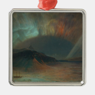 Aurora Borealis by Frederic Edwin Church 1865 Metal Ornament