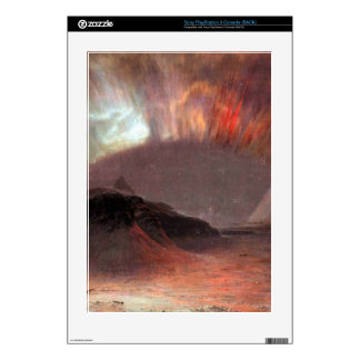 Aurora Borealis by Frederic Edwin Church Decal For PS3 Console