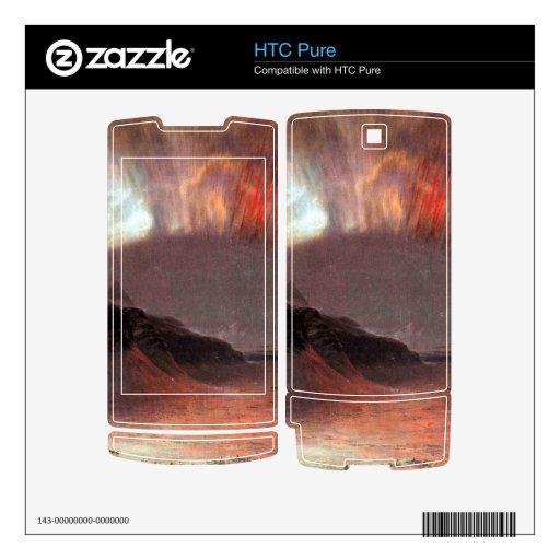 Aurora Borealis by Frederic Edwin Church Decals For The HTC Pure