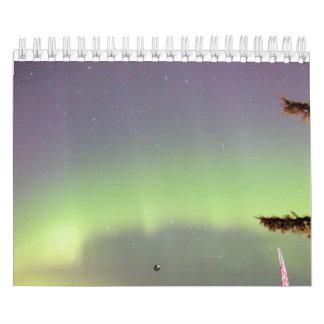 Aurora Borealis Calendar