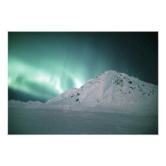Aurora Borealis, cerca de Palmer, el 17 /18 de ene Fotografía