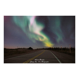 Aurora Borealis - Chisasibi Quebec Poster