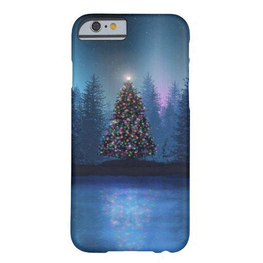 Aurora Borealis Christmas iPhone 6 Case