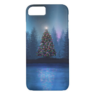 Aurora Borealis Christmas iPhone 8/7 Case