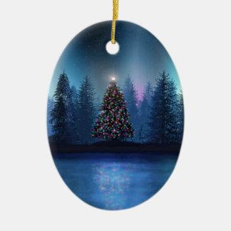 Aurora Borealis Christmas Christmas Ornaments