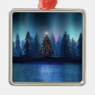 Aurora Borealis Christmas Christmas Ornament