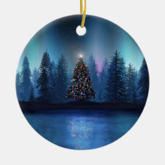 Aurora Borealis Christmas Christmas Tree Ornament