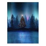 Aurora Borealis Christmas Postcards