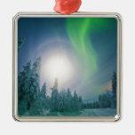 Aurora Borealis Christmas Tree Ornament