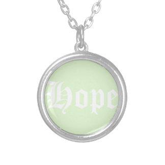 Aurora Borealis Colour Silver Plated Necklace