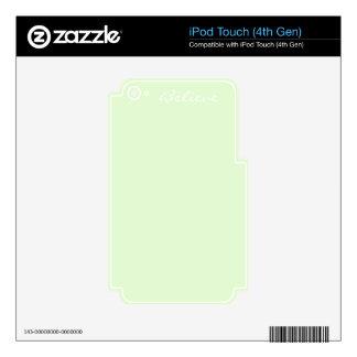 Aurora Borealis Colour iPod Touch 4G Skins