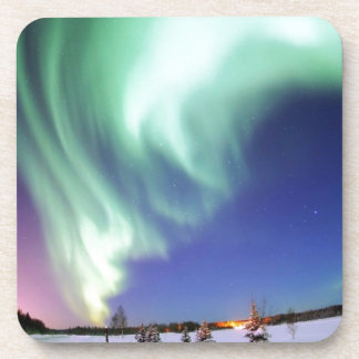 Aurora Borealis Beverage Coaster