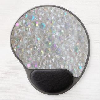 Aurora Borealis Crystals Image Gel Mousepad