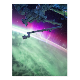 Aurora Borealis del espacio Postales