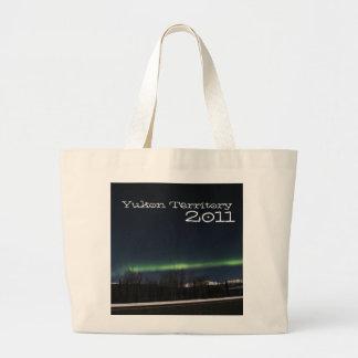 Aurora Borealis del Yukón; Recuerdo del territorio Bolsa Tela Grande