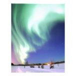 Aurora Borealis Destiny Gifts Custom Letterhead