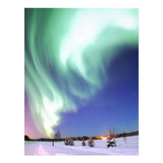 Aurora Borealis Destiny Gifts Letterhead