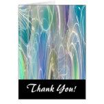 Aurora Borealis Fantasy Abstract Art Stationery Note Card