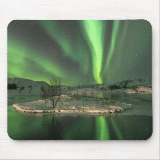 Aurora Borealis Iceland Mouse Pad