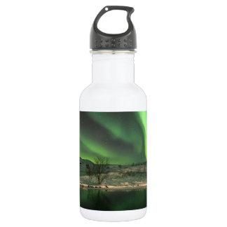 Aurora Borealis Iceland Water Bottle