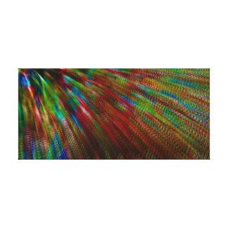 Aurora Borealis Interpretive Dance Canvas Print