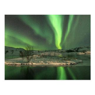 Aurora Borealis Islandia Tarjetas Postales