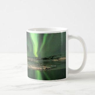 Aurora Borealis Islandia Taza