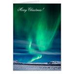 Aurora Borealis - Merry Christmas Greeting Cards