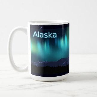 Aurora Borealis Classic White Coffee Mug