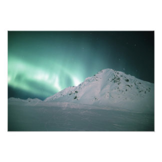 Aurora Borealis, near Palmer, January 17/18, Photo Print