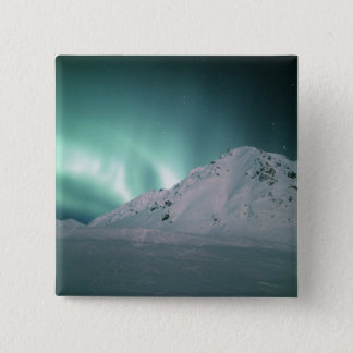 Aurora Borealis, near Palmer, January 17/18, Pinback Button