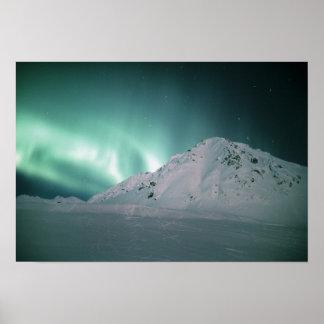 Aurora Borealis, near Palmer, January 17/18, Poster